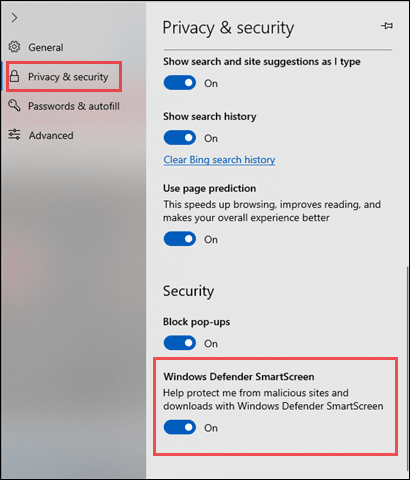 turn-on-smartscreen-feature-in-edge-by-going-into-settings