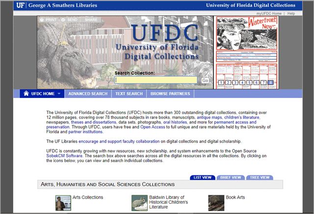 ufdc old newspapers