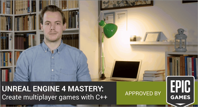 Create Multiplayer Games with C++ from Udemy