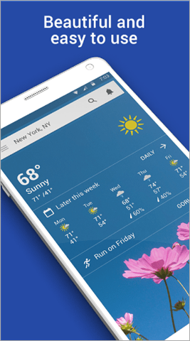 weather channel best weather app for android