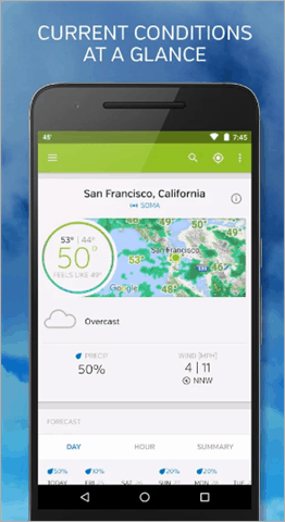 weather underground best weather app for android