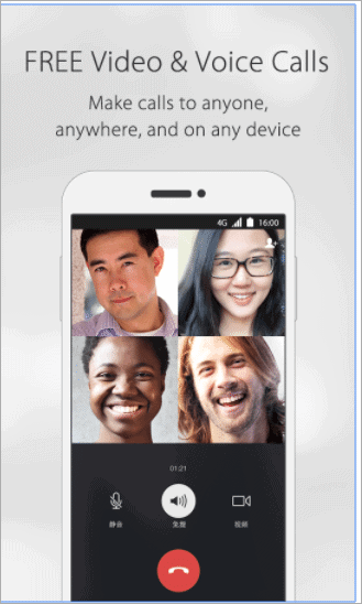 wechat face-time for android alternative