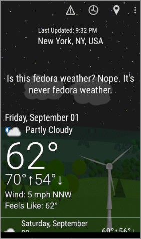 what the forecast best weather app for android