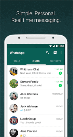 whatsapp best video calling app for android