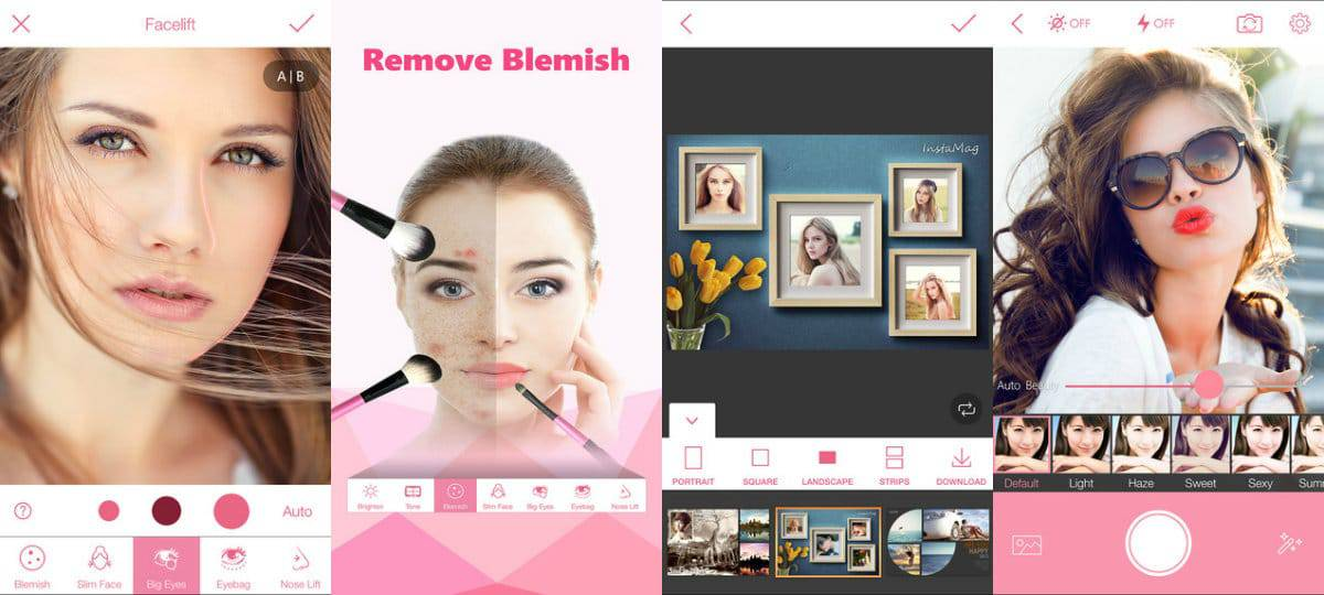 best free selfie photo editing app for iphone