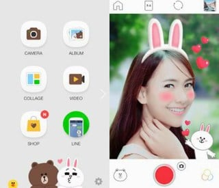 android-selfie-apps-line