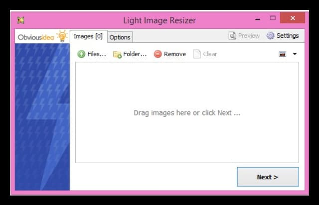 obvious idea light image resizer