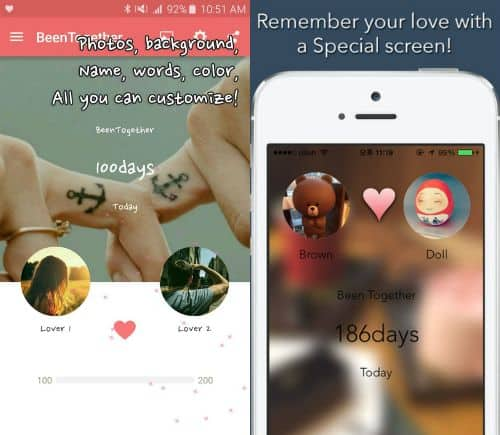 Apps for Couples -- Couple Apps: Been Together