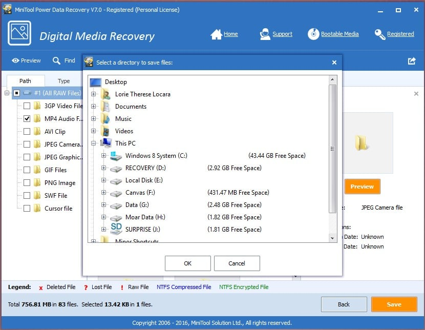 power-data-recovery-save-files