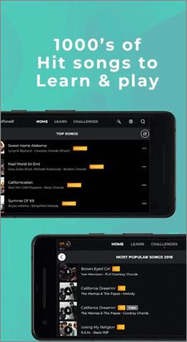 yousician best guitar app