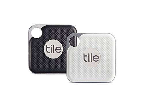 Tile Inc, Pro Black and White Combo, Bluetooth Tracker and Finder, Water...
