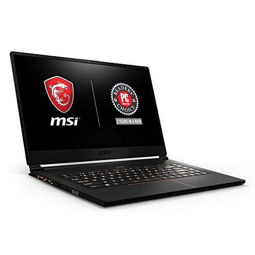 MSI GS65 Stealth THIN-051 15.6' 144Hz 7ms Ultra Thin Gaming Laptop GTX 1060...