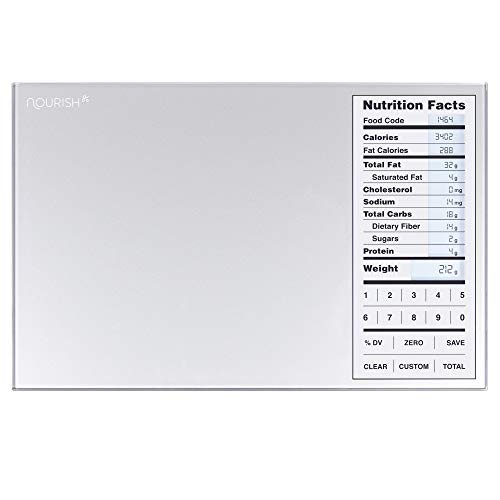 GreaterGoods Nourish Digital Kitchen Food Scale, Not-Connected, Digital...