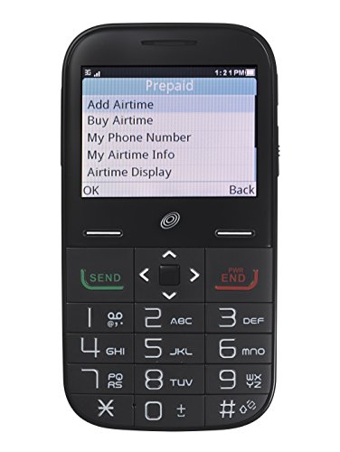 Alcatel Big Easy Plus Prepaid Phone with Double Minutes (Tracfone)