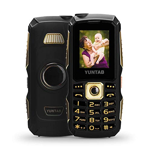 YUNTAB Unlocked 2G Cell Phone for Seniors and Kids, Easy to Use, Large...