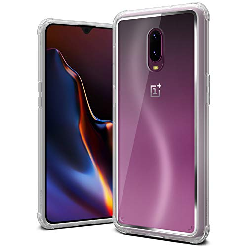 OnePlus 6T Case, VRS Design [Transparent] Clear Dual Layer Heavy Duty...