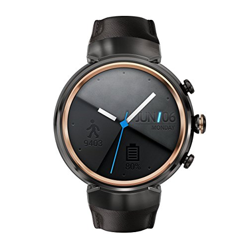 ASUS WI503Q-SL-BG ZenWatch 3 1.39-Inch Amoled Smart Watch with Beige...