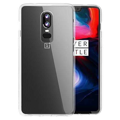 Orzly OnePlus 6 Case, FlexiCase for The One Plus 6 - Slim Fit Protective...