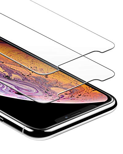 Anker GlassGuard Screen Protector for iPhone X/iPhone Xs/iPhone 5.8 Inch...