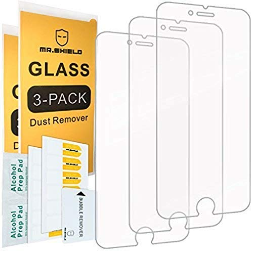 Mr.Shield [Tempered Glass] Screen Protector For iPhone 6 / iPhone 6S /...