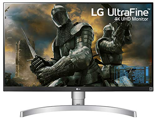 LG 27UK650-W 27 Inch 4K UHD IPS LED Monitor with HDR 10 and Adjustable...