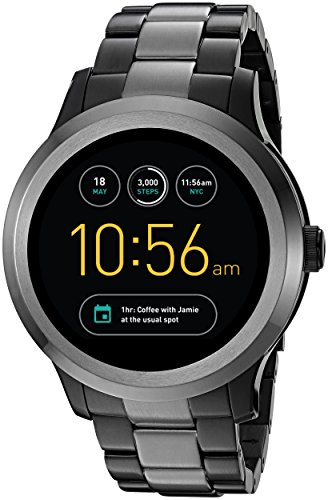 Fossil Q Founder Gen 2 Two-Tone Stainless Steel Touchscreen Smartwatch...