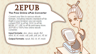 Convert Various eBook Formats with e2PUB