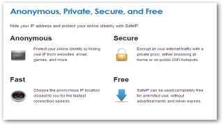 SafeIP Hides Your IP Address While You Surf the Web