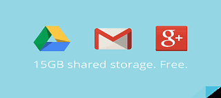 Google Drive, Gmail and Google+ Now Share 15 GB of Storage