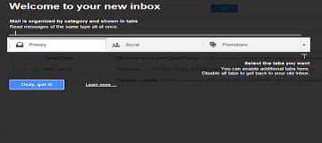 Take Advantage of Gmail's Tabbed Inbox Feature to Filter Your E-mail