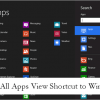 Create an All Apps Shortcut in Windows 8 For Quick Access to Apps and Programs