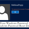 How To Reset Your Windows Password Using a Password Reset Disk