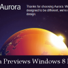 Firefox Aurora Previews Windows 8 Version of the Browser