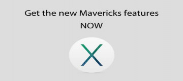 Get the New OS X Mavericks Features Right Now, Before Its Release