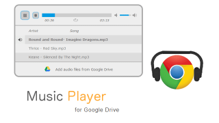 Listen to Your Favorite Music with Music Player for Google Drive