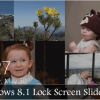 The Windows 8.1 Lock Screen Slideshow Feature Turns it into a Cloud Powered Photo Frame