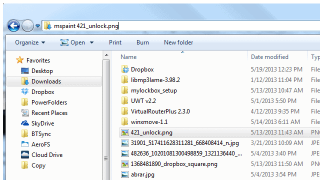 Bypass the Command Prompt by Using the Windows Explorer Address Bar