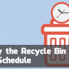 Windows Quick Tip: Automatically Empty the Recycle Bin on a Schedule
