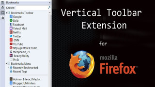 Permalink To Get the Vertical Toolbar Firefox Extension for Better Utilization of Screen Space