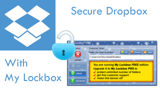 Hide or Password Protect Your Dropbox Folder with My Lockbox