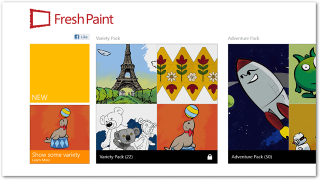 Fresh Paint Lets You Create Masterpieces in Windows 8