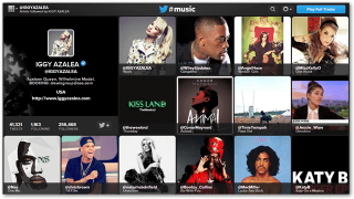 Twitter #Music Goes Live on the Web and iOS