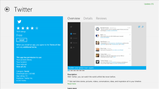 Twitter Comes to Windows 8 with an Official App