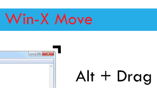 Resize and Move Windows with Ease Using Win-X Move