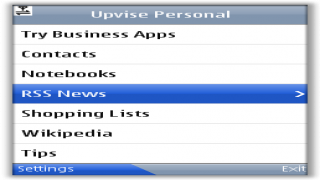 Upvise is your Mobile RSS Reader, Contacts and Shopping List Manager and much more.