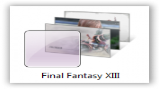 Windows 7 Themes : Final Fantasy XIII Theme For Windows [Game Themes]