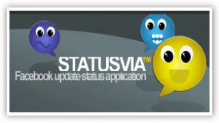 Update Your FaceBook Status Via Any Application Of Your Choice With Status Via