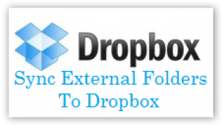 How To Sync Files & Folders Which Are Outside My Dropbox Folder