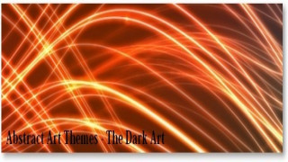 Google Chrome Themes – The Dark Arts [Abstract Art Themes]