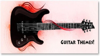 Google Chrome Themes – Guitars [Music Themes]